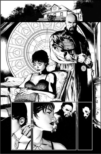 Shadowman #1, pg. 1